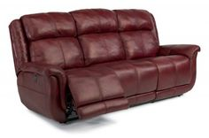 Brookings Leather Power Reclining Sofa 1251-62P in LSP-60