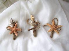 Sea shell corsage boutonniere beach wedding by UptownGirlzz, $15.95