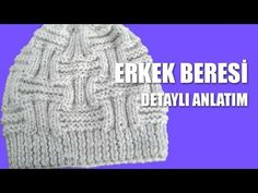 How to Knit - Crochet Beanie (Sugar Cubes Stitch Pattern) Crochet Baby Sweaters, Crochet Coat, Baby Hats Knitting, Baby Knitting Patterns, Knitting Socks, Free Knitting, Knitted Hats, Knitting Videos, Crochet Videos