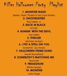 Sans Britney, this seems like a fun Halloween playlist.