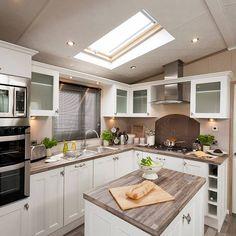 Knightsbridge Static Caravan Kitchen