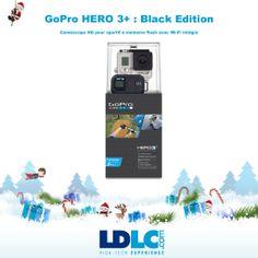 Grand jeu de Noël LDLC ! Vous avez voté pour : GoPro HERO 3+ : Black Edition http://www.ldlc.com/fiche/PB00155745.html