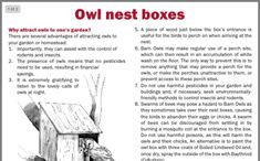 Nesting Boxes, Owl House, Houses, Homes, Bird Houses, House, Nests, Computer Case, Home