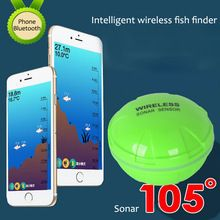 Portable Smart Wireless Fish Finder Bluetooth Fishing Sonar Sensor 30M/120ft Depth For IOS/ Android Phone Tablet Fishfinder  $US $87.71 & FREE Shipping //   http://fishinglobby.com/portable-smart-wireless-fish-finder-bluetooth-fishing-sonar-sensor-30m120ft-depth-for-ios-android-phone-tablet-fishfinder/    #braidedfishinglines