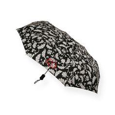 Black and Creme Swirl Print Umbrella  $24.00