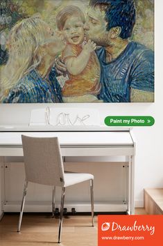 Custom family painting: get your cherished memories on canvas. Best artists compete to paint from your photo. Family Painting, Love Painting, Paint My Photo, Cherished Memories, Precious Moments, Best Artist, Preserve, Family Photos, In This Moment