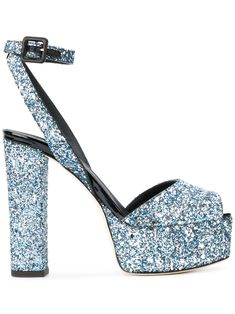GIUSEPPE ZANOTTI DESIGN | Betty glitter platform sandals #Shoes #GIUSEPPE ZANOTTI DESIGN