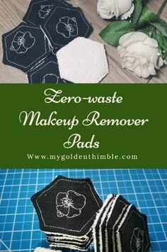 Diy Makeup Remover Pads, Makeup Removers, Sewing Patterns Free, Sewing Tutorials, Sewing Hacks, Small Sewing Projects, Fabric Sewing, Thimble, Learn To Sew