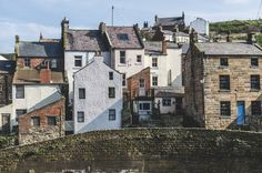 Staithes, Yorkshire, England