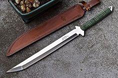 CFK USA iPak Custom Handmade D2 Wakizashi Tactical Sword