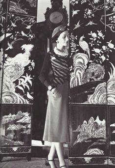 Coco Chanel 1937   #chanel  #coco  #cocochanel  #frenchchic  #style  #vintage