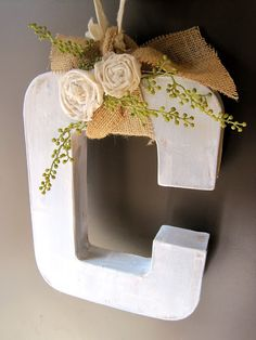 The Project Lady: Letter Wreath