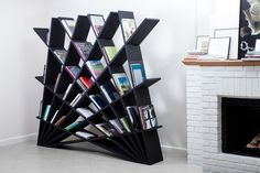 20 beautiful shelves and storage design ideas for your comfortable home - ideen - Wood Shelving Units, Wood Shelves, Corner Shelves, Floating Shelves, Diy Furniture, Modern Furniture, Furniture Design, Furniture Shopping, Bibliotheque Design