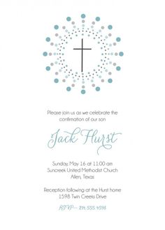 Party Invitations : First Communion Invitation for Boy with White Paper Art and Black Note Wording Design Inspirations - Sample Printable First Communion Invitations for Boys