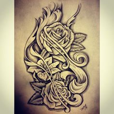 #sketch #flower future tattoo