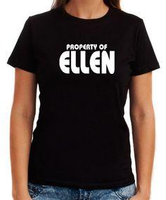 Property Of Ellen Women T-Shirts