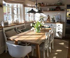 Fundamenta – Otthonok és megoldások Heti kedvenc: friss, tavaszi hangulatú étkezős, amerikai konyhás nappali - Fundamenta - Otthonok és megoldások