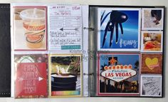 Mini album using Sn@p! Insta pocket pages by Kristine Davidson