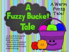 13 Warm Fuzzies Cold Pricklies Ideas Warm Fuzzies Warm Kindness Activities