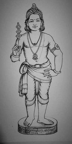 Ganesha Sketch, Ganesha Drawing, Ganesha Art, Outline Drawings, Cool Art Drawings, Pencil Drawings, Lord Shiva Painting, Krishna Painting, Lord Murugan Wallpapers