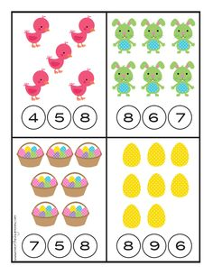 Preschool Centers, Preschool Learning Activities, Preschool Printables, Teaching Kids, Kids Learning, Teaching Numbers, Numbers Preschool, English Grammar For Kids, Montessori Math