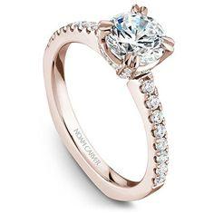 31e3e2f49338 36 mejores imágenes de anillos de compromiso oro rosa