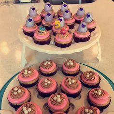 Hatchimal Cupcakes