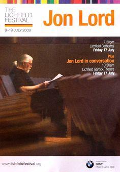 Jon Lord flyer 2009