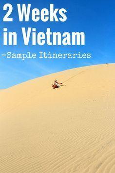2 Weeks in Vietnam: Sample Itineraries - FreeYourMindTravel