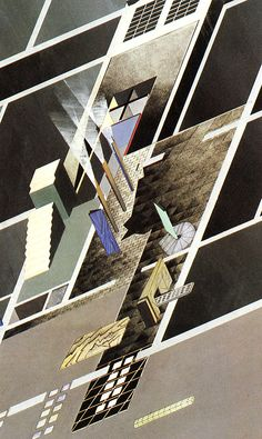 Zaha Hadid Kasha Knapkiewicz Jonathan Dunn Bijan Ganjei. Architecture D'Aujourd'Hui 233 June 1984: 66 | RNDRD
