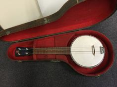 BM-4-String-Banjo-Ukulele-Banjolele-with-Windsor-Case-fully-restored