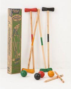 Ridley's Garden Croquet Set - $48 from Anthropologie