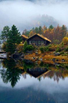 Casa no Lago, quem nunca quis morar em um lugar assim.. Quem nunca?