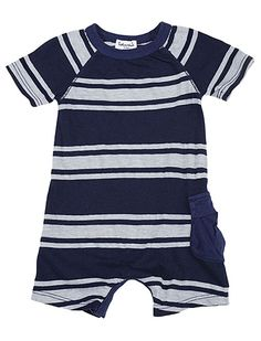 Splendid Official Store, Cargo Playsuit, navy, Baby Boy : Winter Sale, SKAU82394