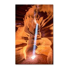 Sun Beam by Pierre Leclerc Photographic Print on Wrapped Canvas