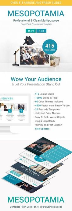 Mesopotamia Creative Business PowerPoint Presentation Template for $20 #BusinessPowerPointTemplate #ppt #business #GraphicDesign #PresentationDesign #set #templates #DesignCollection #GraphicResource #PPTTemplate #GraphicDesigner #collections #design #PowerPointTemplates #PresentationTemplates #powerpoint #graphic #DesignSet #EnvatoMarket #presentation Business Powerpoint Presentation, Business Powerpoint Templates, Tuesday Motivation, Presentation Design, Color Themes, Artist At Work, Keynote, Creative Business, Design Templates