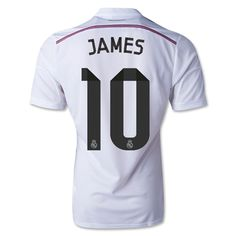 6f1a08dd9b06 adidas real madrid home jersey 2014 15 la liga spain. Men s  FootballFootball ShirtsSoccer ...