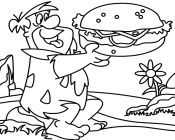 flintstones coloring pages coloring pages flintstones coloring pages