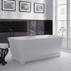 Putney by Imperial Bathrooms Classic Bathroom, Modern Bathroom, Imperial Bathrooms, Freestanding Taps, Royal Bathroom, Bathroom Bath, Bath Shower, Bathroom Ideas, Edwardian Bathroom