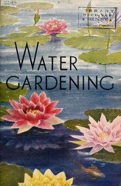 1932 - Water gardening. - Biodiversity Heritage Library