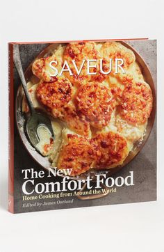 James Oseland 'Saveur - The New Comfort Food: Home Cooking From Around the World' Cookbook | Nordstrom