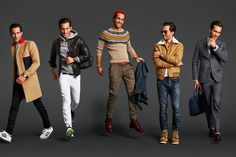 If you're going to look your best your fall (we certainly think you should), here are 15 key pieces that'll take you to the next level. Handpicked by GQ creative director Jim Moore Mens Fashion Blazer, Preppy Mens Fashion, Mens Fashion Week, Men's Fashion, Fashion Menswear, Fashion Tips, Fashion Outfits, Winter Stil, Winter Mode
