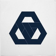 #330 Hexagon knot – The final piece of hexagon week. Something definitely hexagon less tomorrow. – A new minimal geometric composition e — Designspiration
