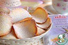 """Печенье """"Тюиль"""" - кулинарный рецепт"""