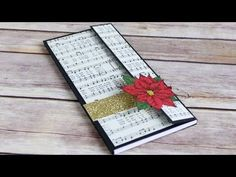 12 Days of Christmas Series Day 11: Christmas Notepad Holder - YouTube
