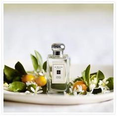 Nectarine Blossom and Honey perfume by Jo Malone. This is the scent that the lady at the PO was wearing. So pretty!