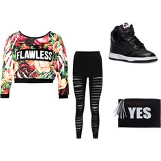Untitled #13 by lydiaubblegum on Polyvore featuring Boohoo and NIKE