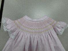Vita's beautiful smocked bishop dress. Smocking, Ruffle Blouse, Beautiful, Tops, Dresses, Women, Fashion, Vestidos, Moda