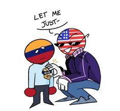 Colombia Country, Country Art, Hetalia, Kawaii Anime, Avengers, Mario, Fandoms, Doodles, Cartoon