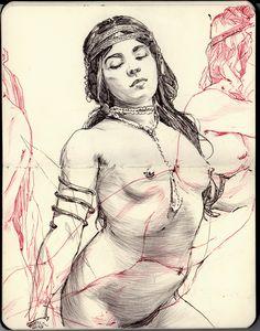 Joe Whyte sketchbook